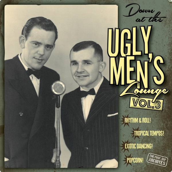 """Down At The Ugly Men's Lounge"" Vol. 3 (10"" Vinyl inkl. Audio-CD)"